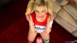Pure and perverted cheerleader Dolly..