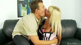 Gorgeous bright-haired Kasey Storm is..
