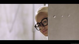 Elsa Jean is spying on provoking..