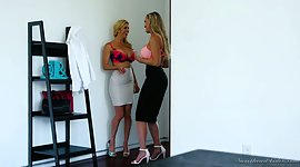 Alexis Fawx and Brandi Live it up are..