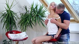 blonde Olivia C discloses off her..