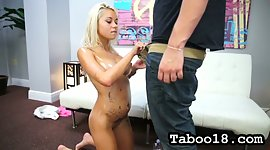 All lubed naked blonde doxy Marsha May..