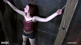 Red haired bitch Claire Adams is owned..