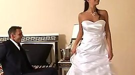 Bride gets hammered in her trendy..