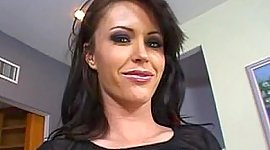 Brown-haired wench Jenna Presley..