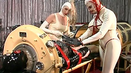 Master lewd nurses persuades latex..