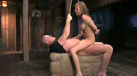 Horn-mad stud makes tied up..