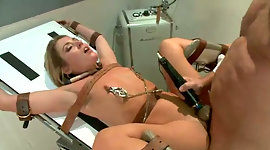 Thonged hussy is fucked by dirty..